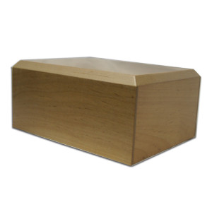Maple Wooden Urn