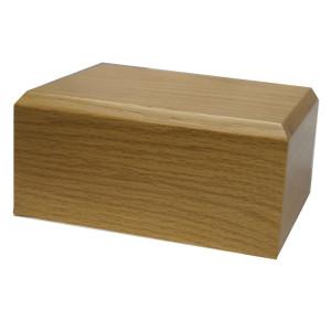 Oak Wooden Urn